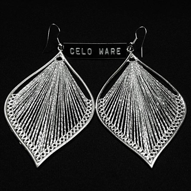 雪銀 歐美款式 耳勾式耳環 Earing / CELO WARE