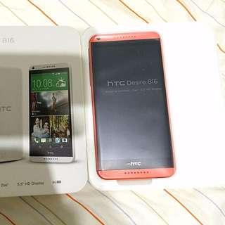 6成新 HTC 816 單卡 +16g Sd卡