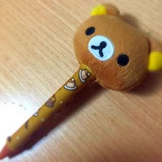 超卡哇伊拉拉熊造型原子筆☃