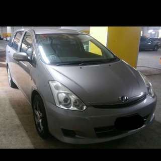 Toyota Wish For Rent!!!