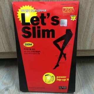 韓國🇰🇷let's slim瘦腿襪