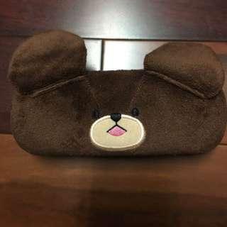 上學熊眼鏡盒