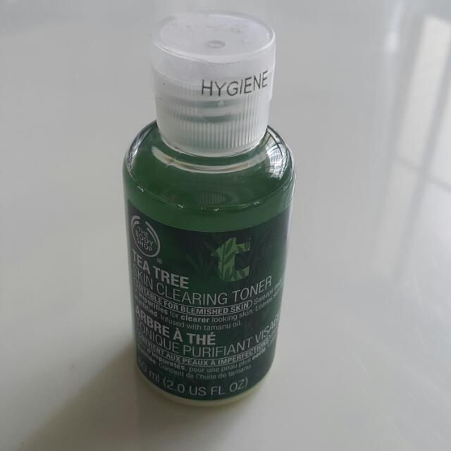 全新茶樹淨膚調理水60ml