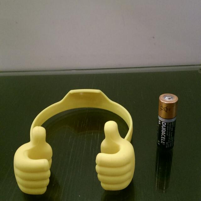 小黃手手機置物架[贈品可選]
