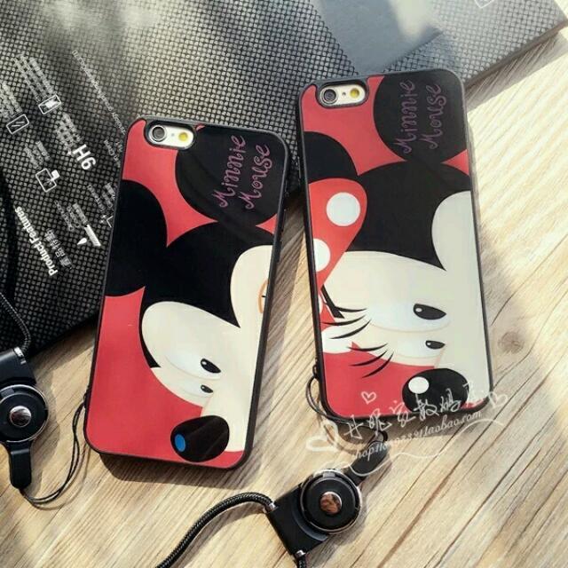 可愛米奇手機套