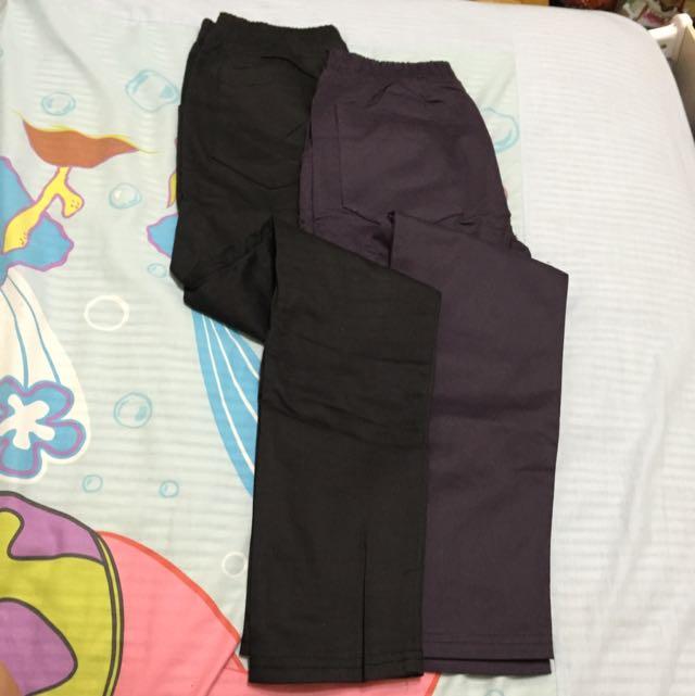 全新窄管褲