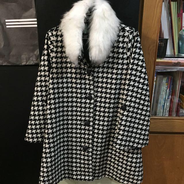 千鳥紋大衣