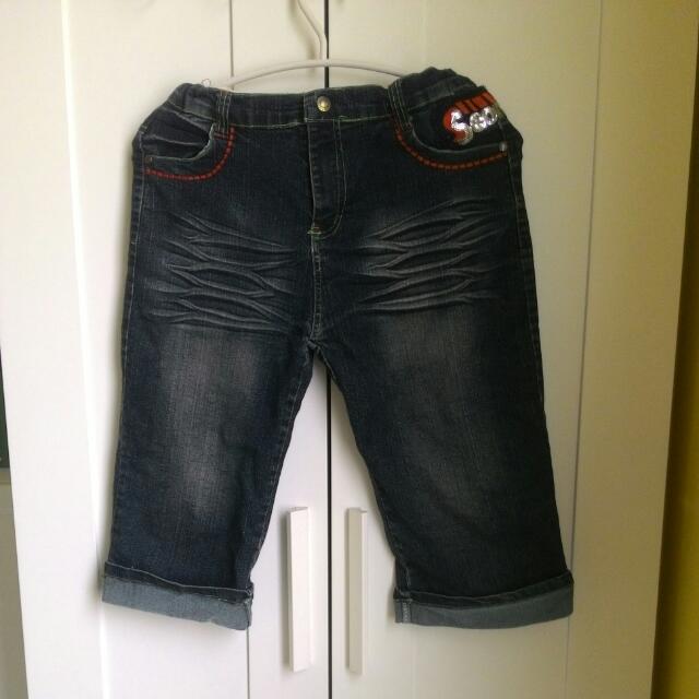 牛仔褲  7分褲