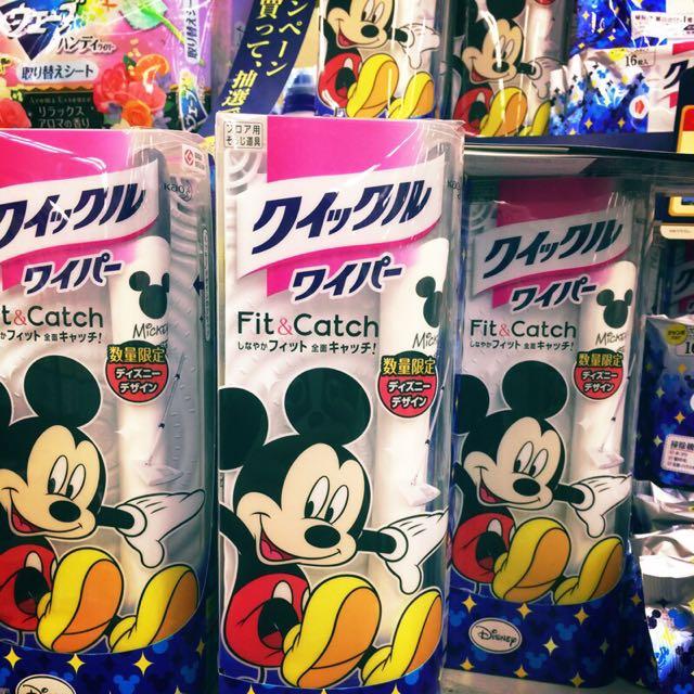 【花王 迪士尼限定除塵紙拖把】預購。東京購回