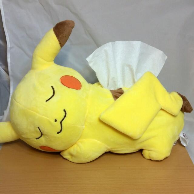 神奇寶貝  皮卡丘 睡眠/趴睡 面紙套