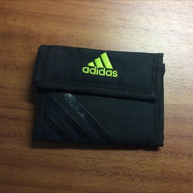 Adidas 運動皮夾 皮包 錢包 零錢包