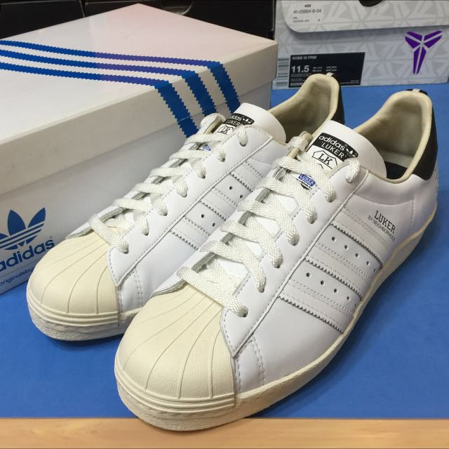 Adidas X Neighborhood X Luker 牛皮 奶油頭
