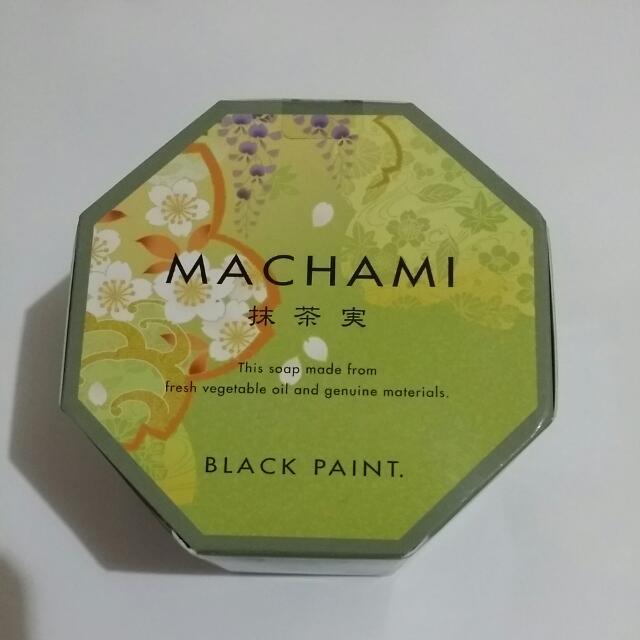 BLACK PAINT抹茶洗臉皂