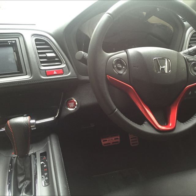 bn honda vezel 39 s red interior parts car accessories on carousell. Black Bedroom Furniture Sets. Home Design Ideas