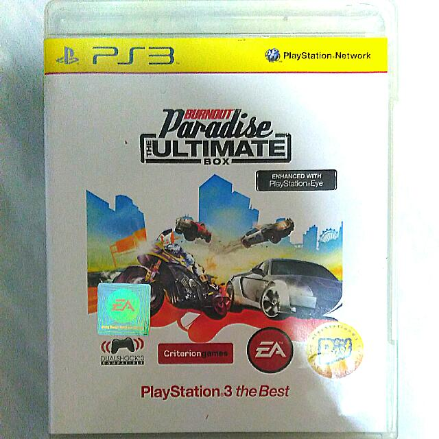PS3 Burnout Paradise The Ultimate Box, Toys & Games on Carousell