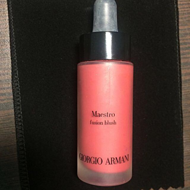 保留中 Giorgio Armani 極緞絲柔腮紅精華#400