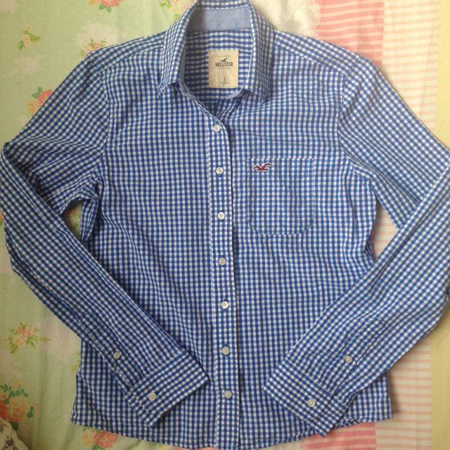 Hollister 格子襯衫