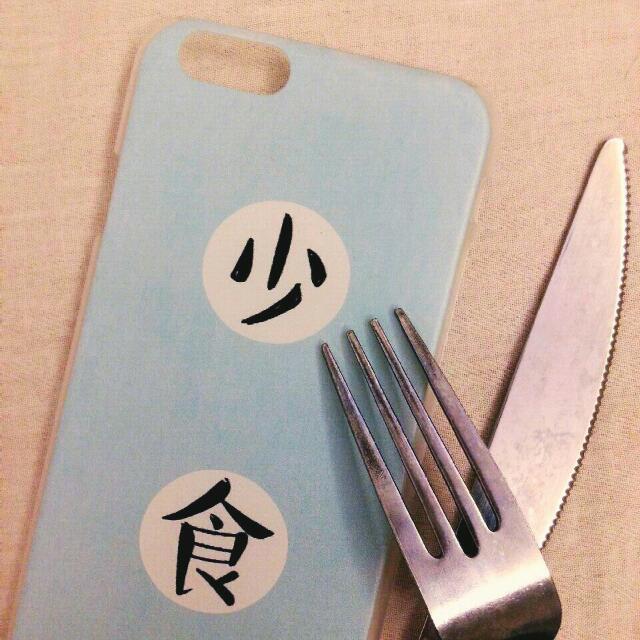 (待面交)『少食』iPhone6/6s  手機殼(硬)