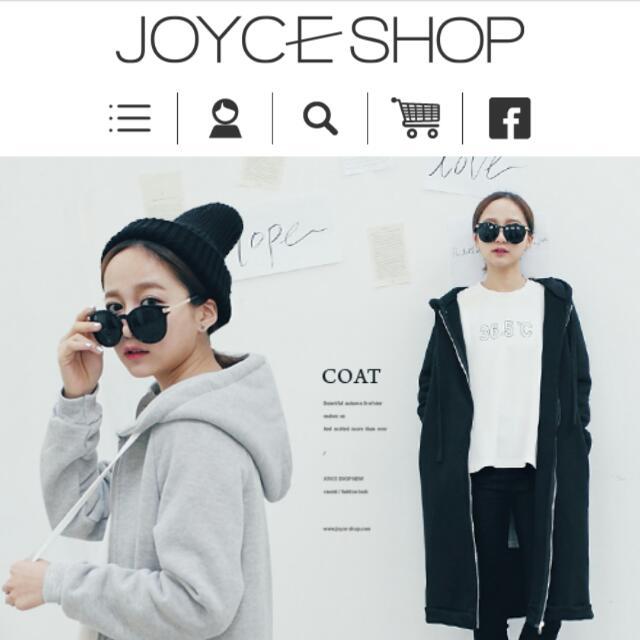 全新Joyce shop 休閒連帽內刷毛棉外套.推薦
