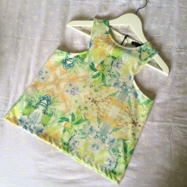 MANGO MNG Printed Top