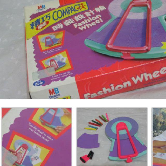 MB Compact 時裝設計輪 Fashion Wheel 五歲以上 益智 創意 玩具