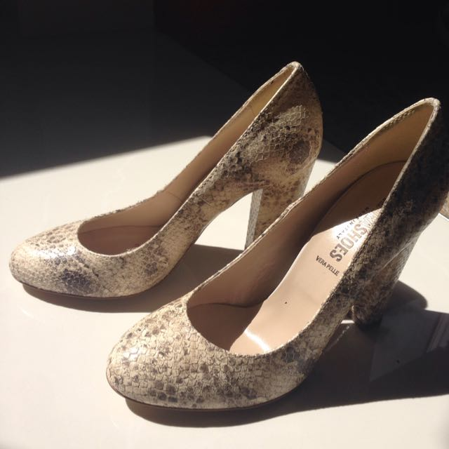 NARA Shoes Women Faccia Dorian/Beige Dress Pump