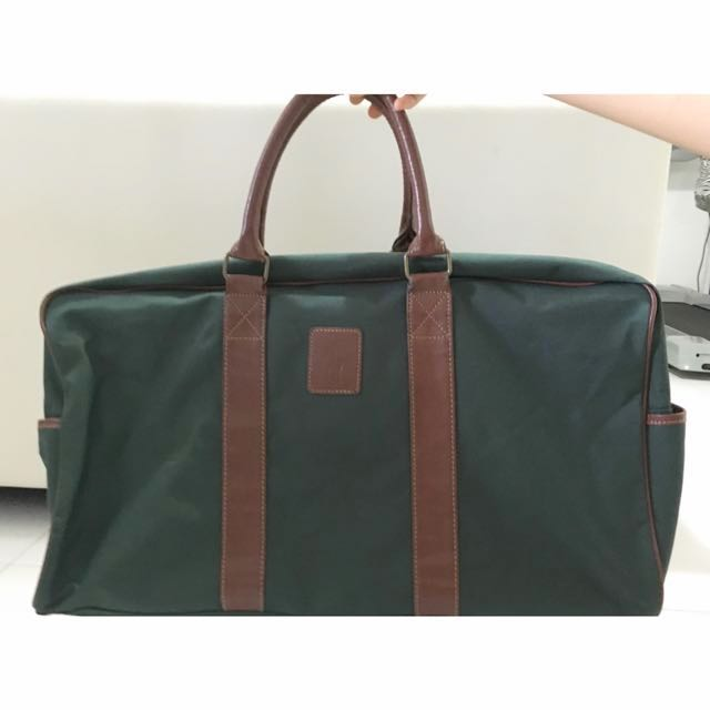 Polo Ralph Lauren Duffle Bag With Sling In Green 8a52691b2adc2