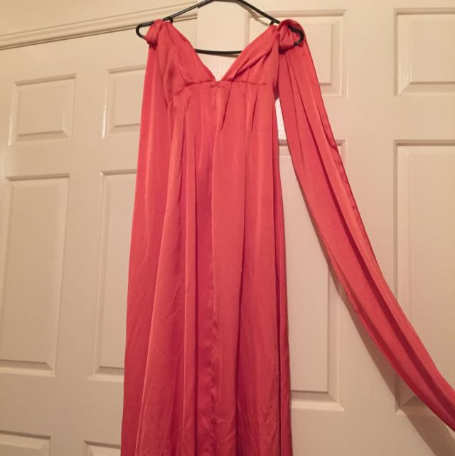Size 8 Sheike Coral Dress