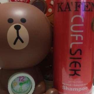 KA'FEN 還原酸蛋白系列 鎖色燙後洗髮精 大瓶760ml