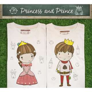 Prince & Princess Royal Kingdom tshirts