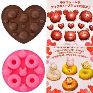 12/27即時連線--情人節 tsum tsum 巧克力 / 甜甜圈模型