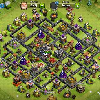 Clash Of Clans TH9 Lvl 115