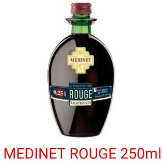 Medinet Rouge 0.25Litre  (Red wine) *Please note this item only for 18 years old and above