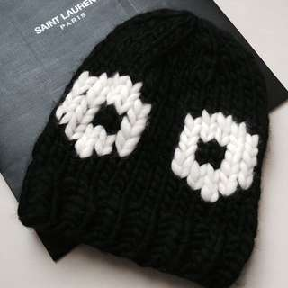 歐洲品牌 Wool And The Gang 黑白時尚帽