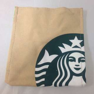星巴克Starbucks 單寧布購物袋