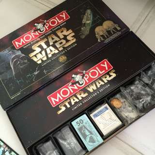 BNIB - STARWARS MONOPOLY ( Collectors Edition 1977-1997 )