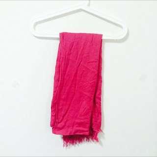 Unique 小流蘇柔軟圍巾