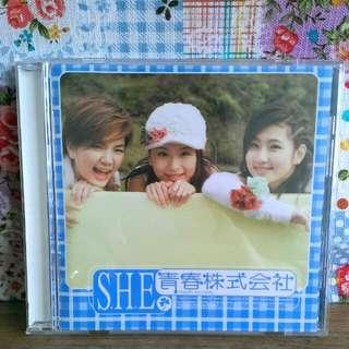 SHE  CD+VCD