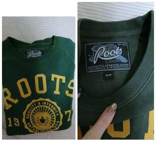 正版Roots長袖T