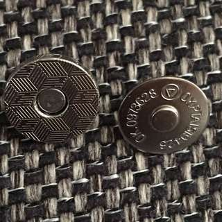 Magnetic Fastener Snaps Clasp