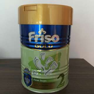 Brand New-Friso Gold Stage 2 (6 Month And Above)-400gm