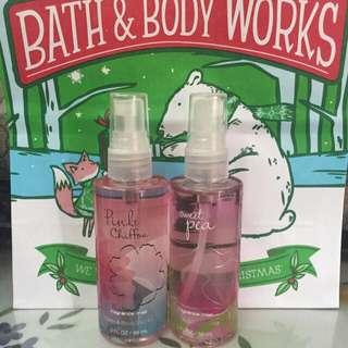 (RESERVED) Pink Chiffon / Sweet Pea Fragrance Mist Bath & Body Works