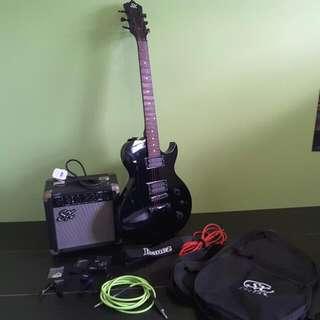 SX Electric Guitar Beginner Package