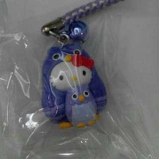 日本 北海道限定 Hello Kitty 變裝企鵝 吊飾