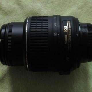 Nikkor 18-55 VR Kit Lens
