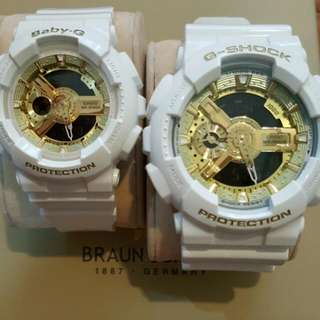 G Shock And Baby G Preloved couple set