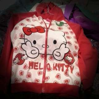 Disney Hello Kitty Red Hoody For Kids