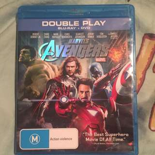 Thor And Marvels Avengers Blu-Ray And DVD