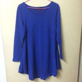 寶藍色 洋裝