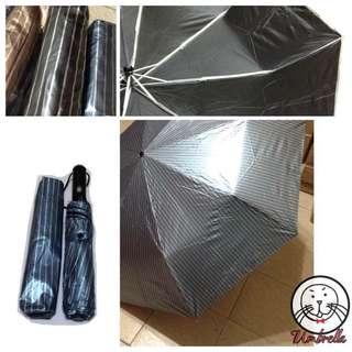 巨無霸色膠自動傘